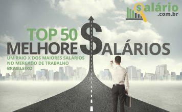 Top 50 profissões com os melhores salários