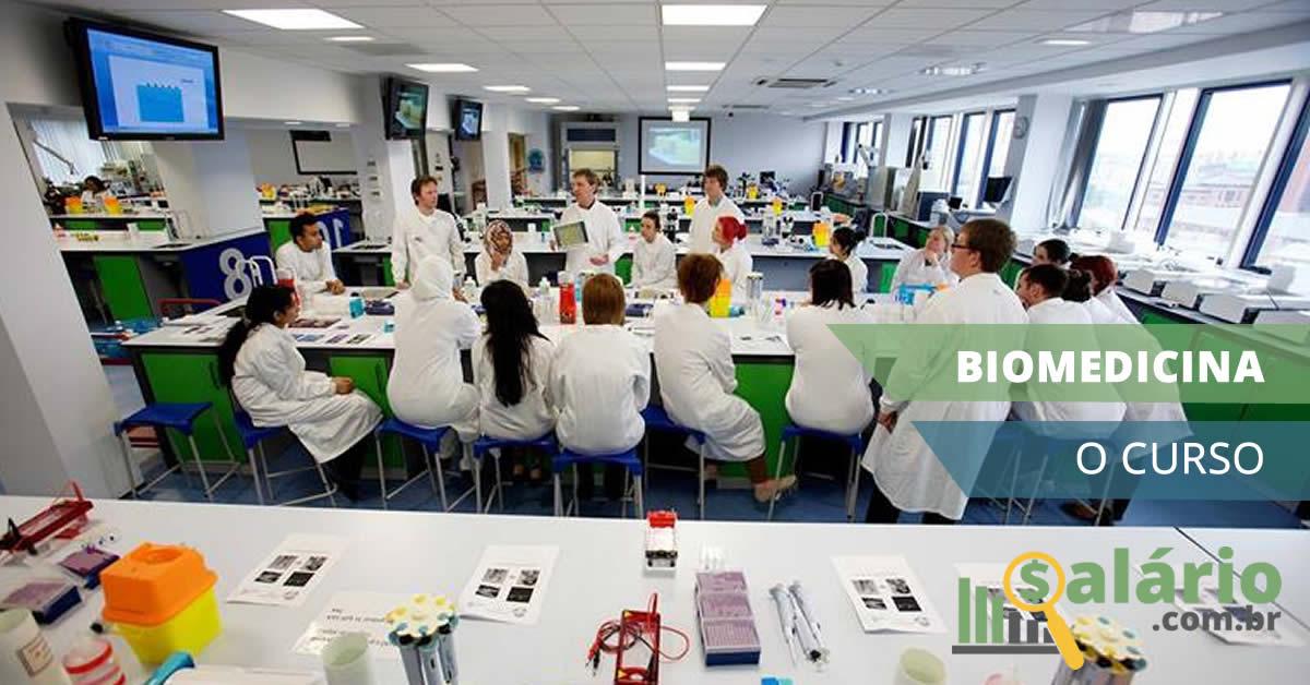 Como é o curso de biomedicina