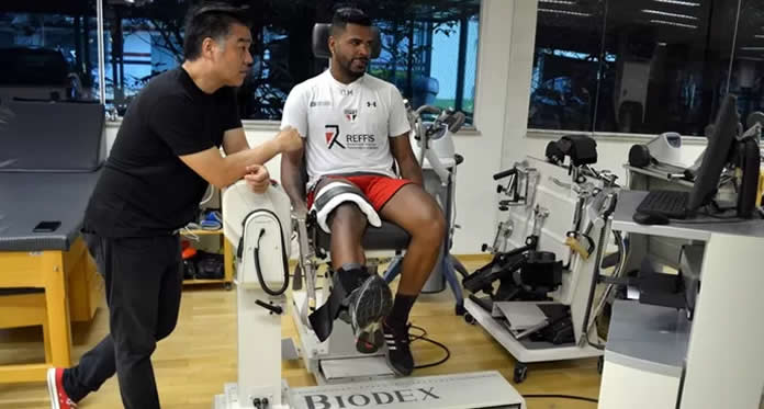 Fisioterapeuta esportivo do São Paulo FC