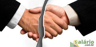 Homologação contrato trabalho