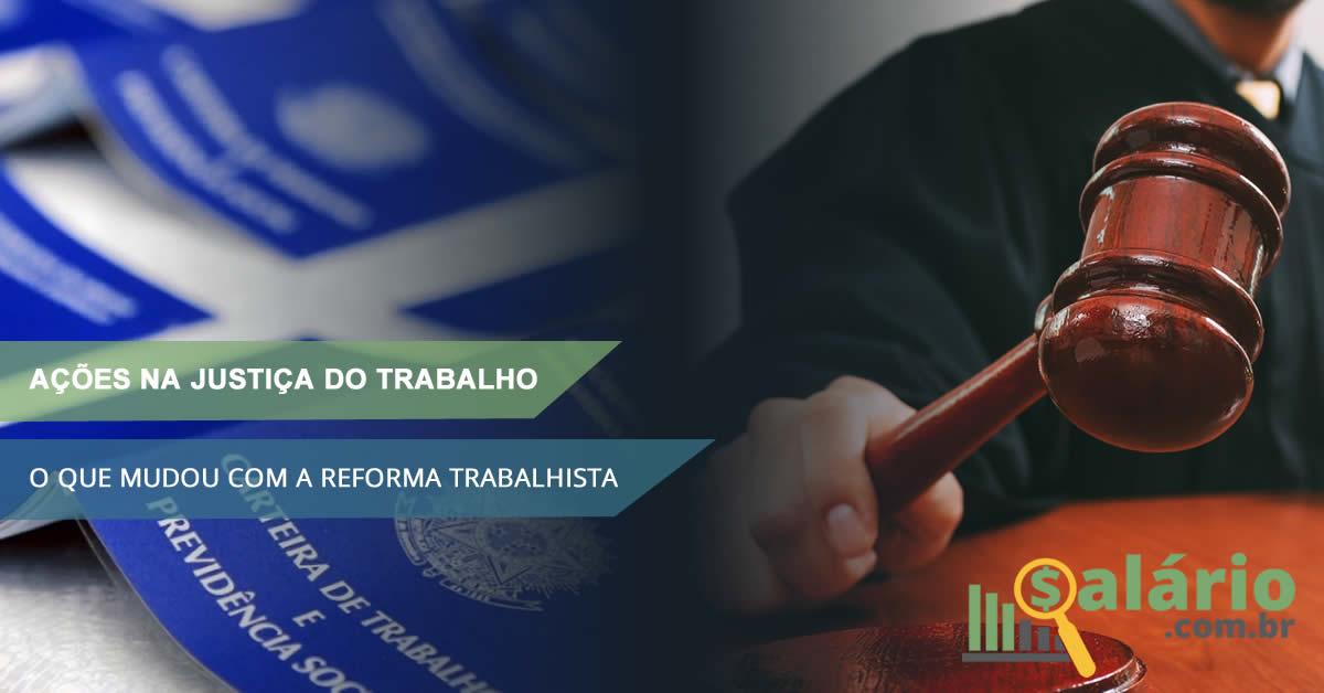 Justiça do trabalho na reforma trabalhista