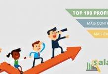 As 100 profissões mais contratadas no Brasil