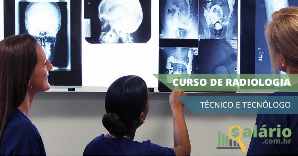 Curso técnico e tecnólogo em radiologia