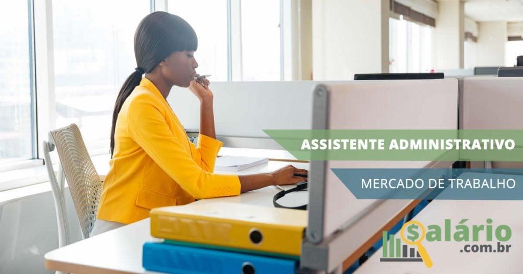 Mercado de trabalho para assistente administrativo