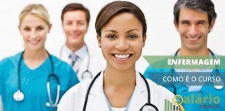 O que se estuda no curso de enfermagem