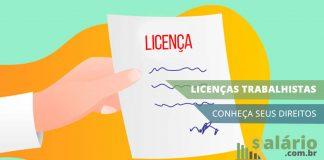 Principais licenças trabalhistas remuneradas
