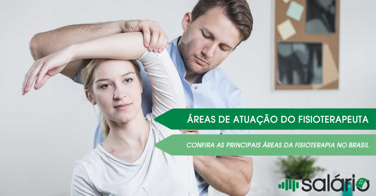 Áreas da fisioterapia no Brasil