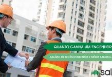 quanto ganha um engenheiro civil nas cidades e o salário para recém-formados na faculdade