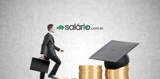 Tabela salario inicial recém formados faculdade