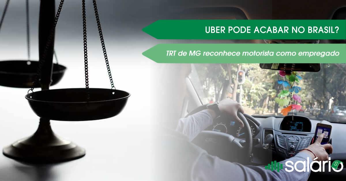 Reconhecimento de vínculo empregatício pela Uber no Brasil